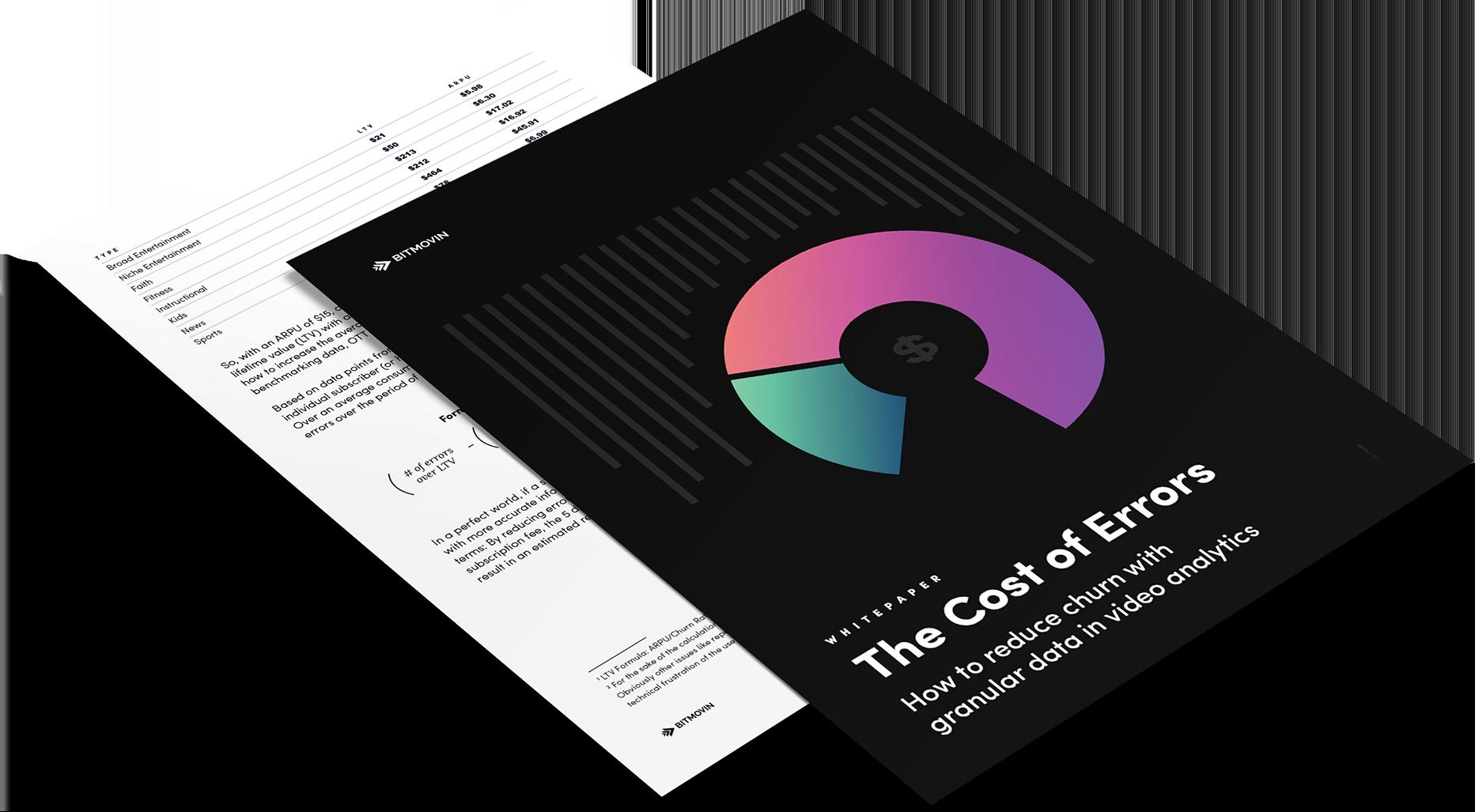Bitmovin Cost of Errors Whitepaper
